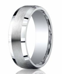 Men's Silver Wedding Ring